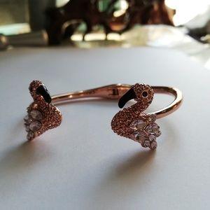 Kate spade flamingo crystal bracelet